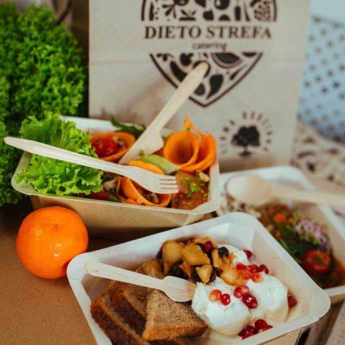 Posiłek Dietostrefa Catering Dietetyczny Dieta pudełkowa z dostawą