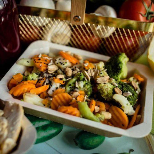 Zdrowy posiłek Dietostrefa Catering Dietetyczny Dieta pudełkowa z dostawą