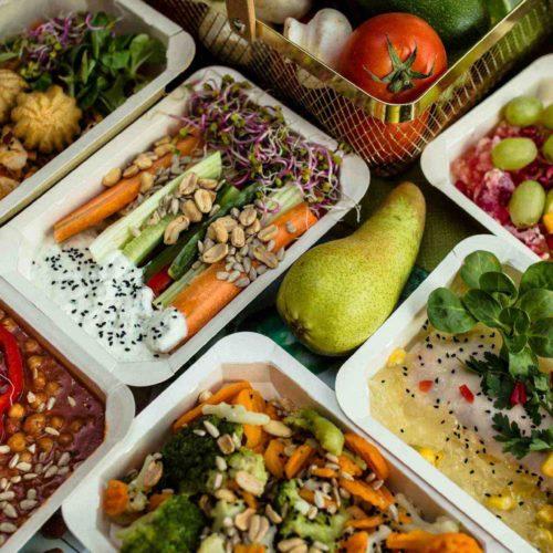 Zestaw obiadowy Dietostrefa Catering Dietetyczny Dieta pudełkowa z dostawą