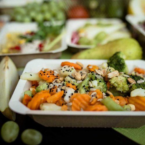 Warzywa + owoce Dietostrefa Catering Dietetyczny Dieta pudełkowa z dostawą