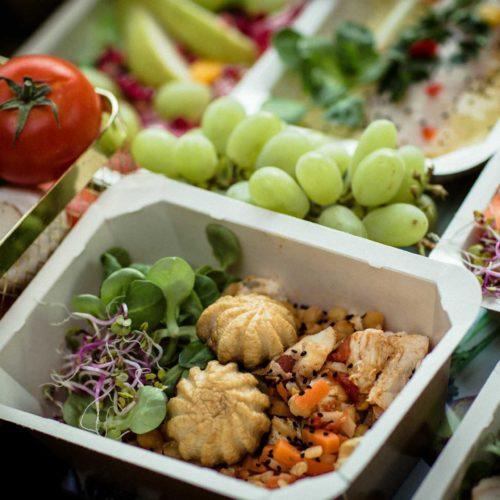 Owoce i warzywa Dietostrefa Catering Dietetyczny Dieta pudełkowa z dostawą