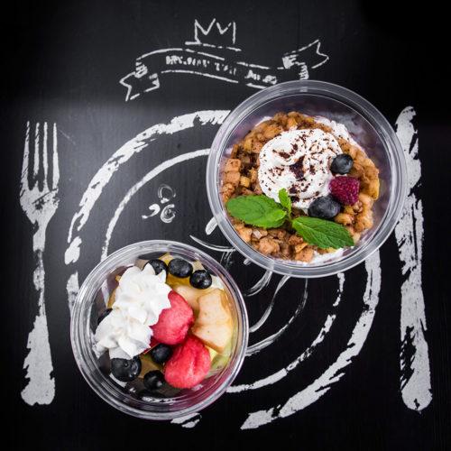 Zdrowy deser Dietostrefa Catering Dietetyczny Dieta pudełkowa z dostawą