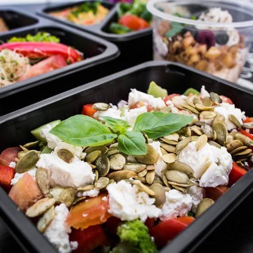 Sałatka Dietostrefa Catering Dietetyczny Dieta pudełkowa z dostawą